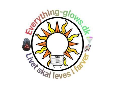 Everything-glows.dk logo