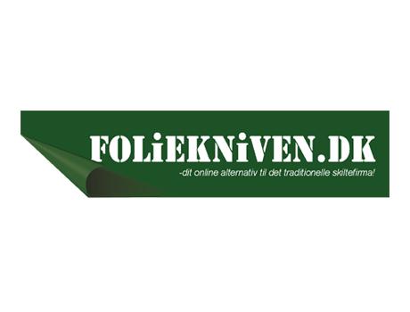 Foliekniven - folie, klistermærker, prin logo
